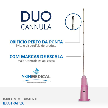 DUO CANNULA 18G×70mm + agulha de pertuito