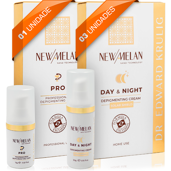 Kit 1 un. Newmelan Pro + 3 un. Newmelan Day & Night